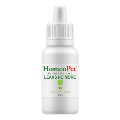 HOMEOPET LEAKS NO MORE FOR DOGS AND CATS