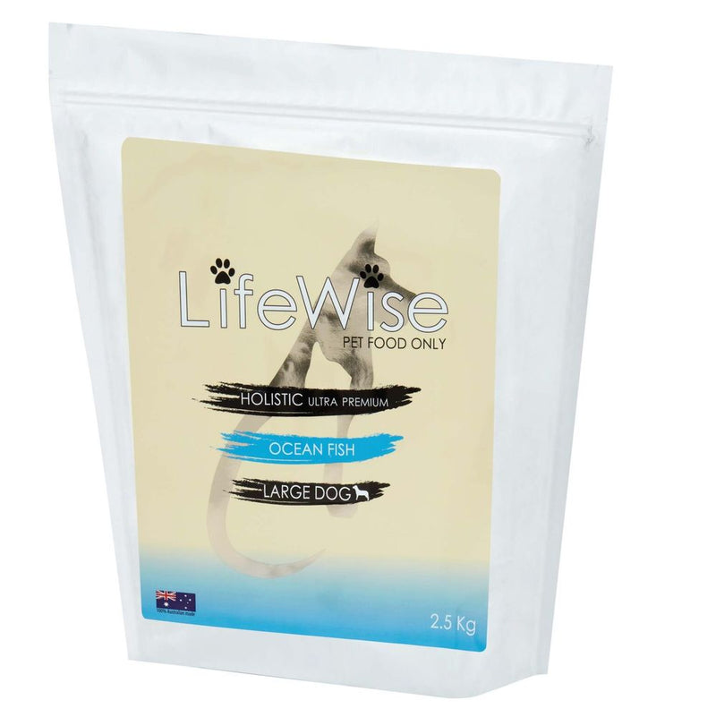 LIFEWISE HOLISTIC ULTRA PREMIUM DOG FOOD - OCEAN FISH FOR LARGE DOGS 2.5KG