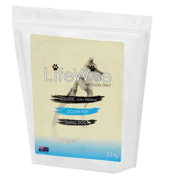 LIFEWISE HOLISTIC ULTRA PREMIUM DOG FOOD - OCEAN FISH FOR SMALL DOGS 2.5KG