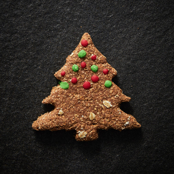 CHRISTMAS DOGGIE GINGERBREAD TREE