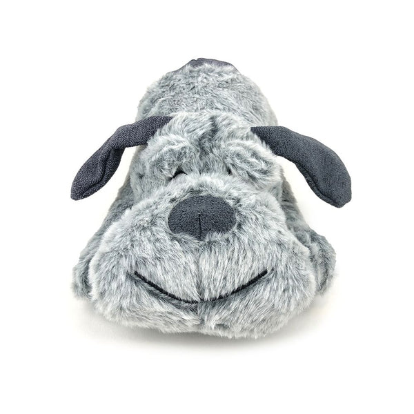 SNUGGLE FRIENDS PLUSH LARGE DOG - GREY