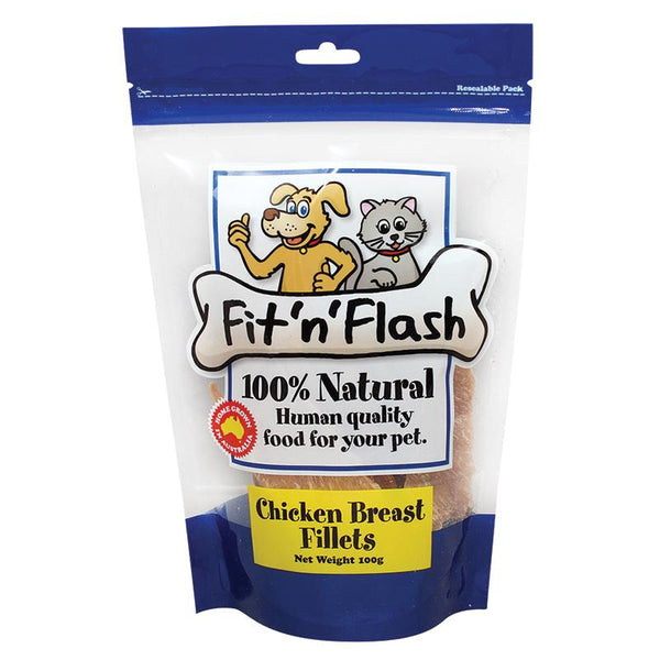 FIT 'N' FLASH CHICKEN BREAST FILLETS 100G