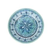 Barkley And Bella Fresco Saucer - Aqua