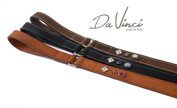 MADDALENA  LEATHER DOG LEASH