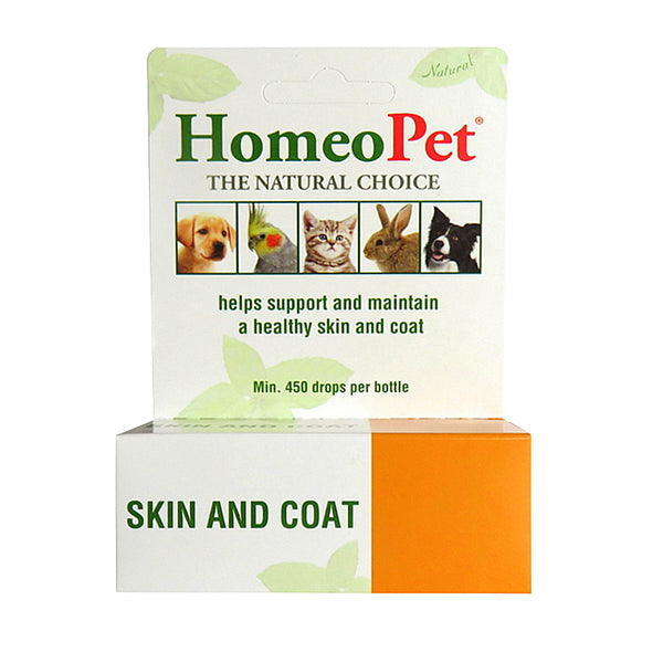 HOMEOPET SKIN AND COAT FOR DOGS