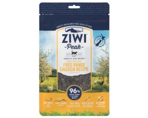 ZIWIPEAK CAT FOOD AIR DRIED CHICKEN 400 GM