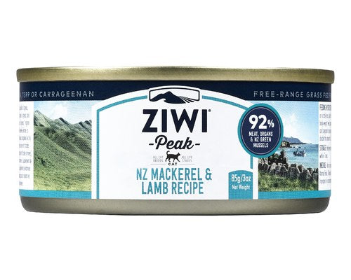 ZIWIPEAK CAT CAN MACKEREL & LAMB 85GM