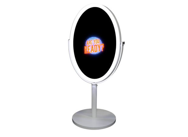 BOLD-300 Oval Mirror Photo Booth Shell