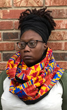 Load image into Gallery viewer, Ethnic Print Infinity Scarf