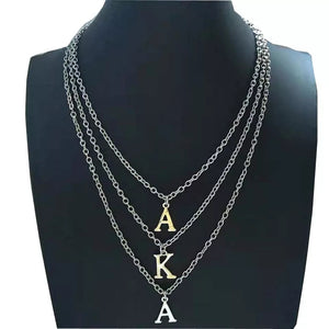 Alpha Kappa Alpha Initial Necklaces