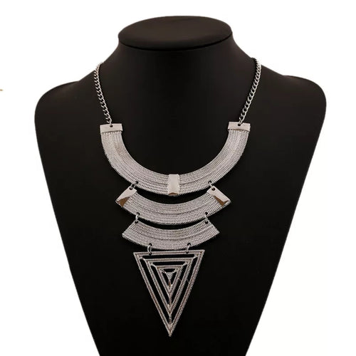 Vee Bib Necklace