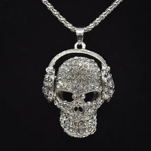 Load image into Gallery viewer, DJ Bling Skull Necklace