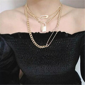 Locked & Loaded Chain Necklace