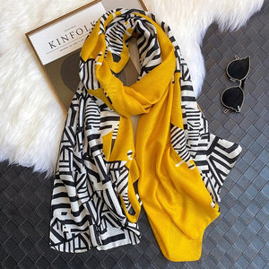 Fancy Zebra Scarf
