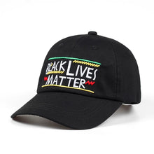 Load image into Gallery viewer, Black Lives Matter Dad Hat