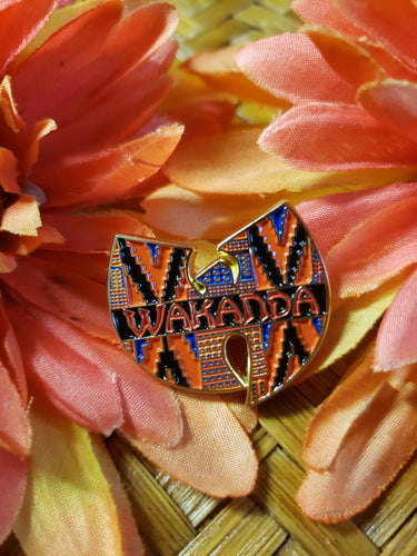 Wakanda Kente Pin