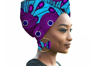 Wrap Star Headwrap & Earring Set