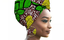 Load image into Gallery viewer, Wrap Star Headwrap & Earring Set