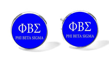 Load image into Gallery viewer, Phi Beta Sigma Cufflinks