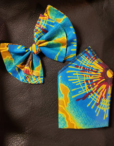 Kwaku Bow Tie & Pocket Square Sets