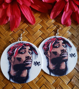 Tupac Earrings