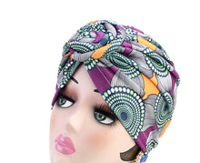 Load image into Gallery viewer, Knotty Girl Pre-Knot Turban (Print)