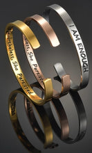 Load image into Gallery viewer, I Am Enough Mantra Bracelet