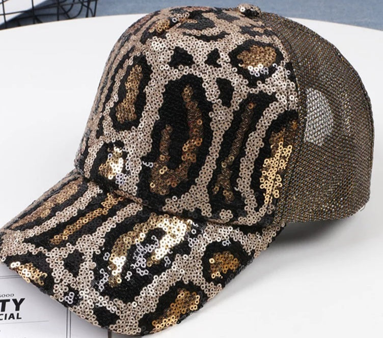 Rich Auntie Sequins Hat