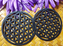 Load image into Gallery viewer, Flower of Life Earrings