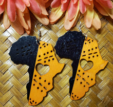 Load image into Gallery viewer, Heart of Africa Earrings