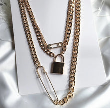 Load image into Gallery viewer, Locked & Loaded Chain Necklace
