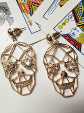 Load image into Gallery viewer, Oh Sugah Skull Earrings