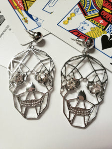 Oh Sugah Skull Earrings