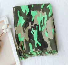 Load image into Gallery viewer, Camo Pop Scarf