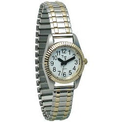 Watch Tel-Time Ladies Low Vision, white,