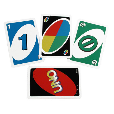 Braille Card Game Uno