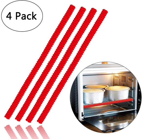 Oven Rack Shields - 4 Pack Heat-Resistant Silicone