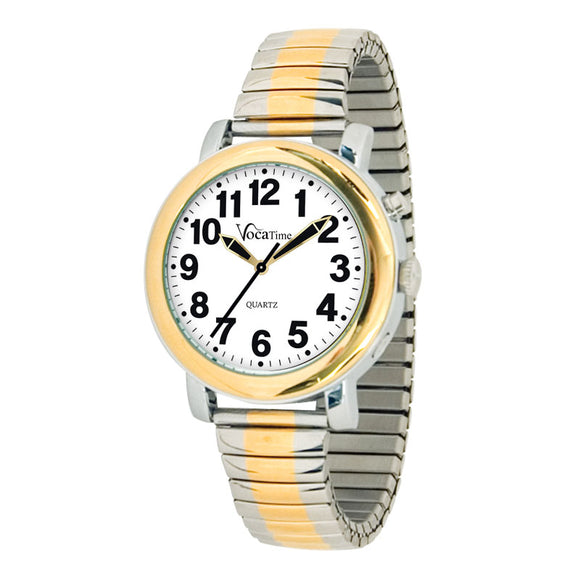Watch - Men's Talking Two-tone Watch
