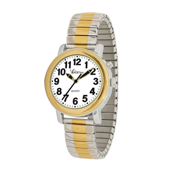 Watch - Lady's Talking Two-tone Watch