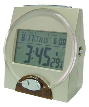 Clock - Talking Atomic LCD Display