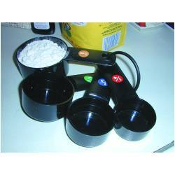 Measuring Cups, Black