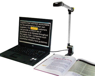 Pearl -Portable Reading Solution w/OpenBook 9
