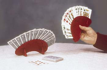 Playing Card Holder, Round