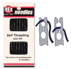 Needles, Self-Threading