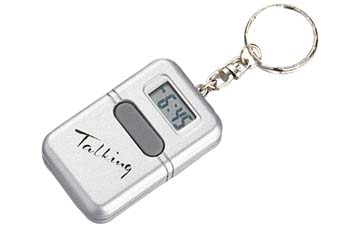 Clock -Talking Key Chain (English)