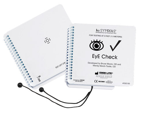 Eye Check 20/40 Book ONLY (with Cord)