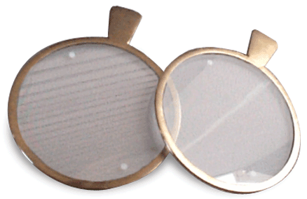 Bagolini Striated Lens