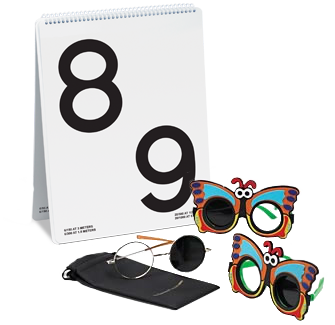 LEA NUMBERS® Low Vision Book