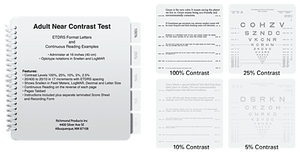 Adult Contrast Reading Test