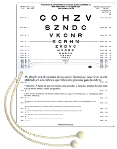 Combination Near Vision & Reading Card
